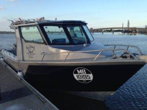 gone fishing boat